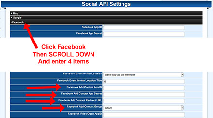 Facebook Setup App Step 9