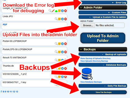 File Manager Advanced Example