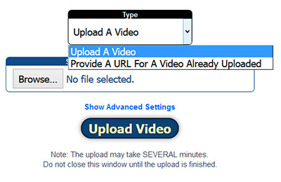 File Manager Videos Example