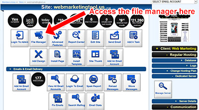 File Manager Where Example