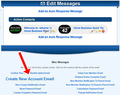 Create New Account Email