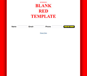 Blank Capture Page Template