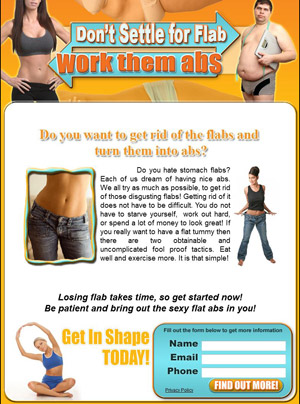 Don't Settle For Flab