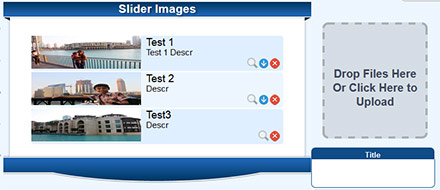 Image Slider Example